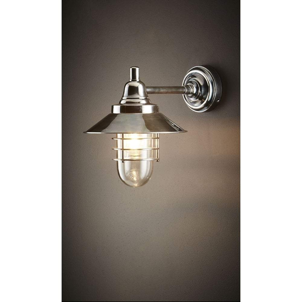 Clark Wall Lamp in Silver