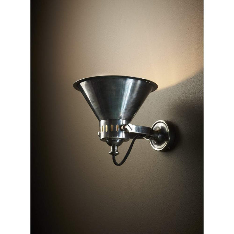 Montego Wall Lamp in Silver - House of Isabella AU