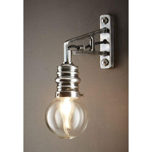 Carlton Wall Lamp in Silver