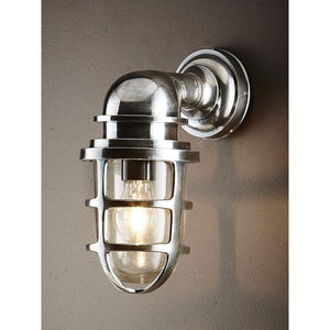 Porto Wall Lantern Antique Silver