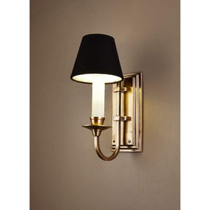 East Borne Wall Light in Antique Brass