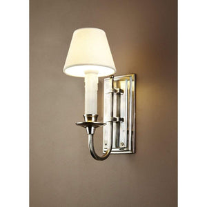 East Borne Wall Light in Antique Silver