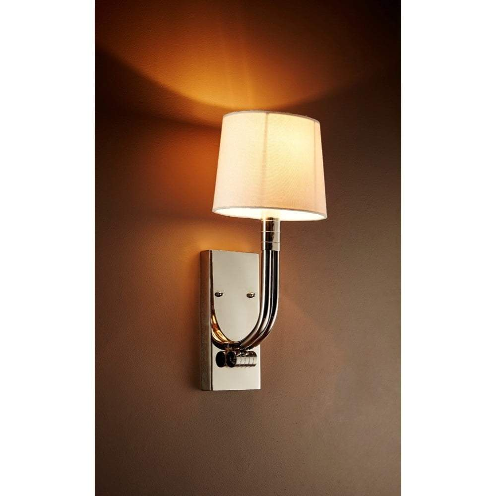 Salisbury Wall Sconce in Nickel