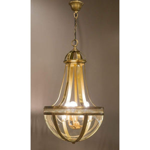 Doma Hanging Lamp Medium in Brass