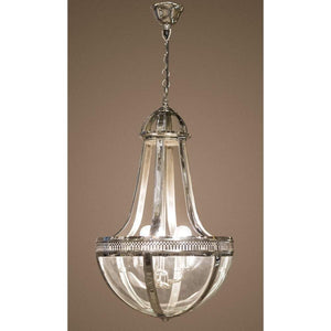 Doma Hanging Lamp Medium in Nickel