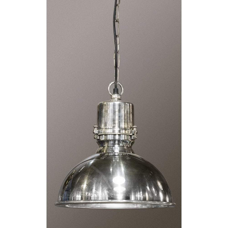 Augusta Large Hanging Lamp In Silver - House of Isabella AU
