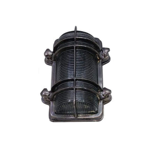 Harley Wall Lamp Antique Silver