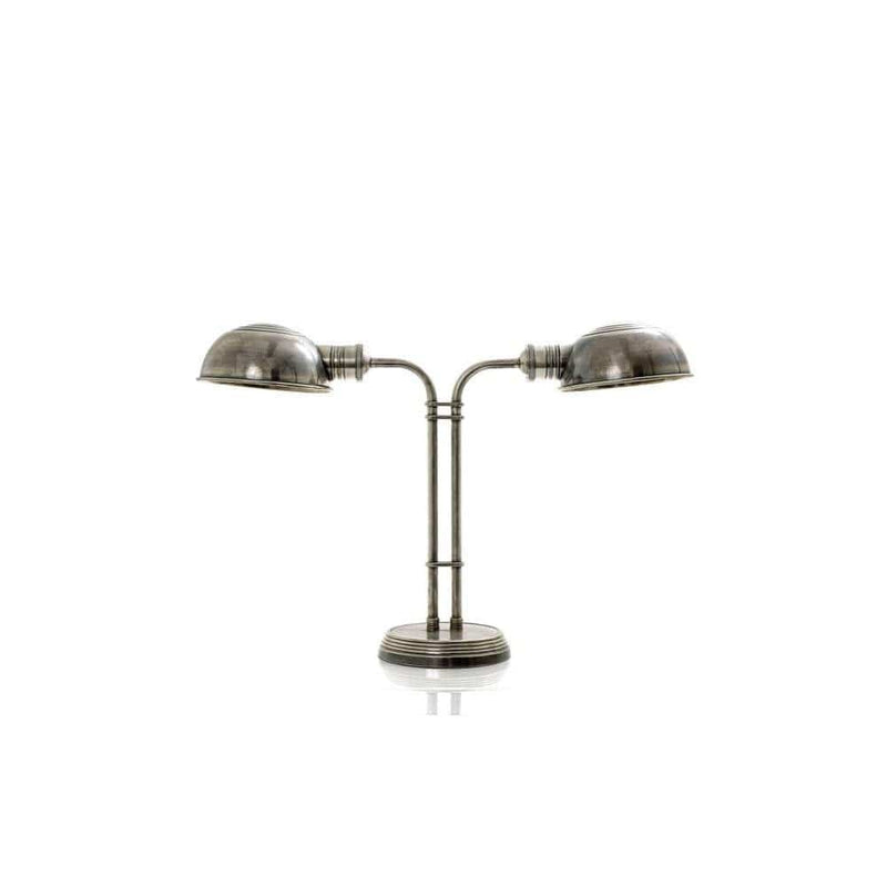 Picardy Table Lamp in Antique Silver - House of Isabella AU