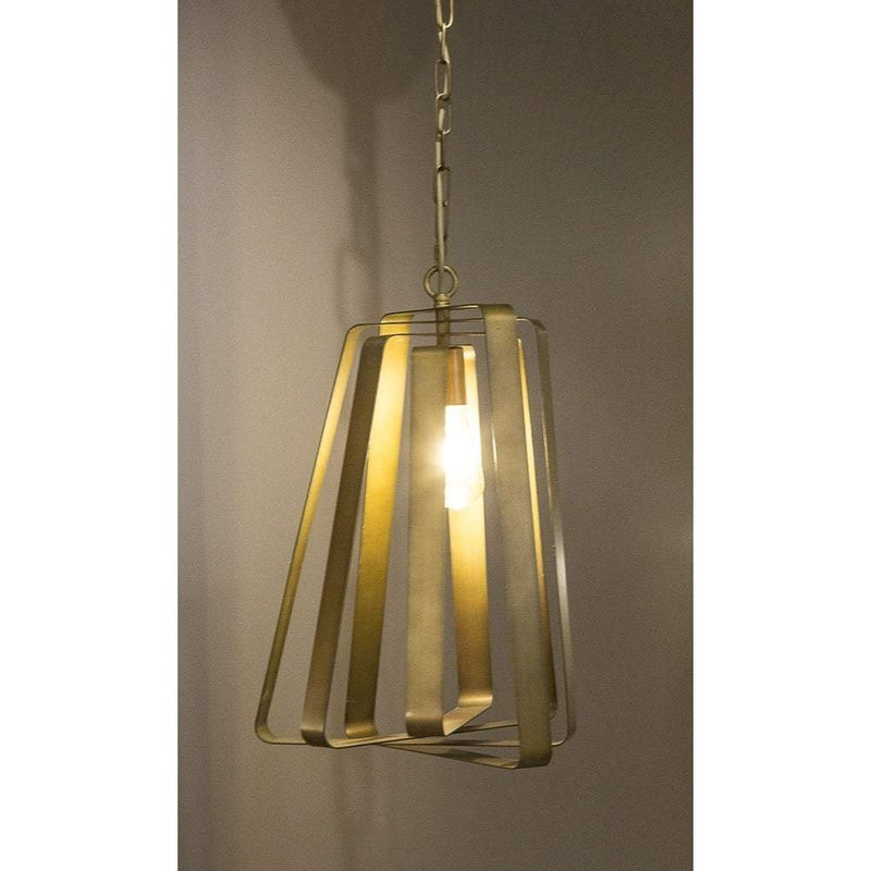 Mona Vale Hanging Lamp in Brass