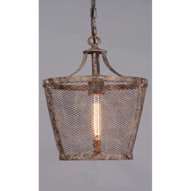 Fabio Large Hanging Lamp in Rustic - House of Isabella AU