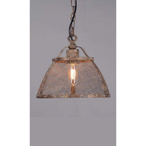 Lorenzo Medium Hanging Lamp in Rustic