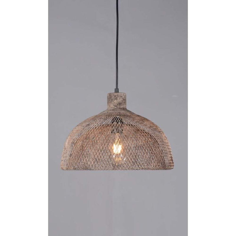 Valentino Medium Hanging Lamp Rustic - House of Isabella AU
