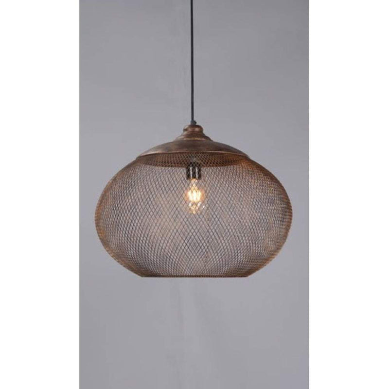 Carlo Large Hanging Lamp in Rustic