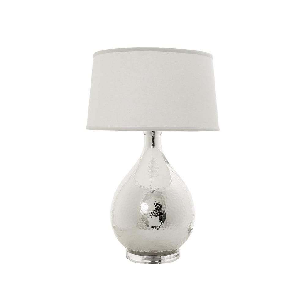 Halifax table lamp with off white shade - House of Isabella AU