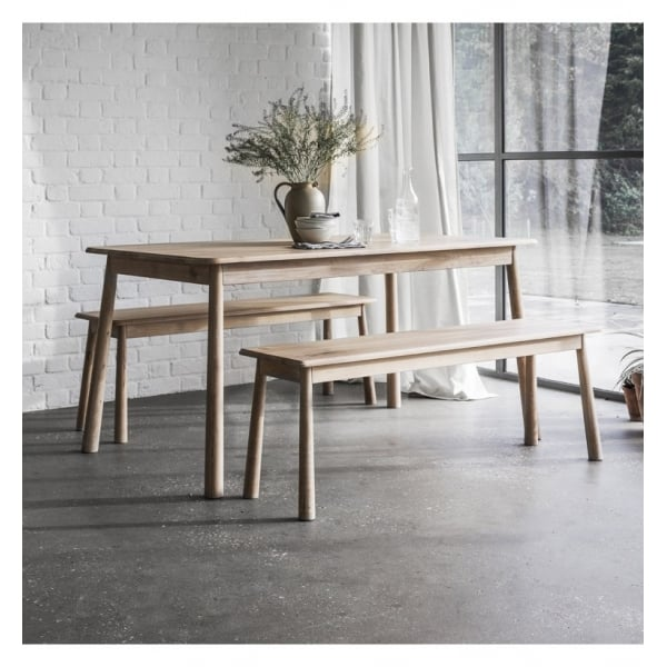 Walter Oak Dining Bench - House of Isabella AU