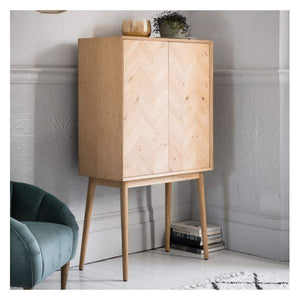 Madina 2 Door Cocktail Cabinet