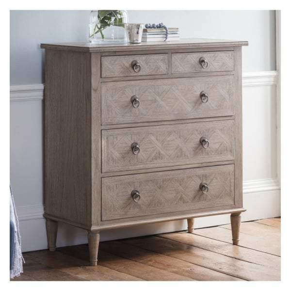 Makassar 5 Drawer Chest - House of Isabella AU