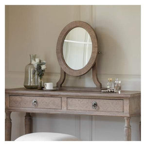 Makassar Dressing Table Mirror W525 x D200 x H535mm