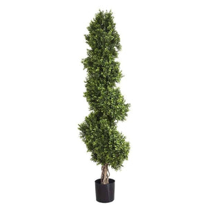 Boxwood Spiral Artificial Tree