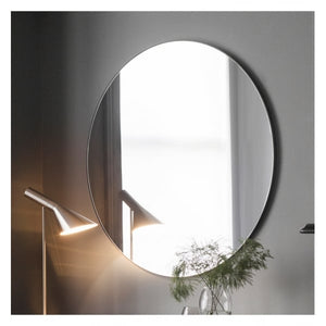 Haifa Round Mirror Black W1000 x D20 x H1000mm