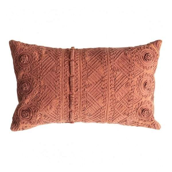 Pasco Stonewash Cushion Burnt Orange - House of Isabella AU