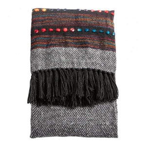 Nador Throw Black/Multi