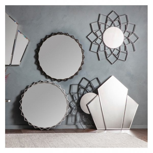 Riley Mirror Silver - House of Isabella AU