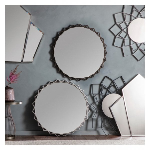 Birchwood Mirror Silver 920x35x920mm