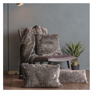 Olinda Wolf Cushion Grey 500x500mm