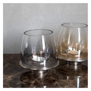 Ellison Tealight Holder Polished Aluminium