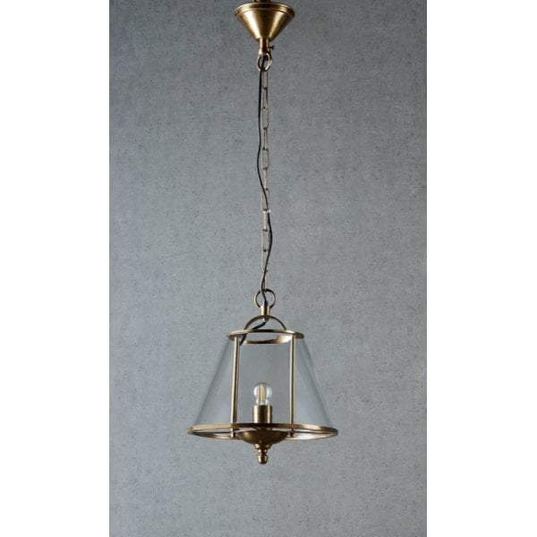 Cotton Tree hanging lamp in ant brass - House of Isabella AU