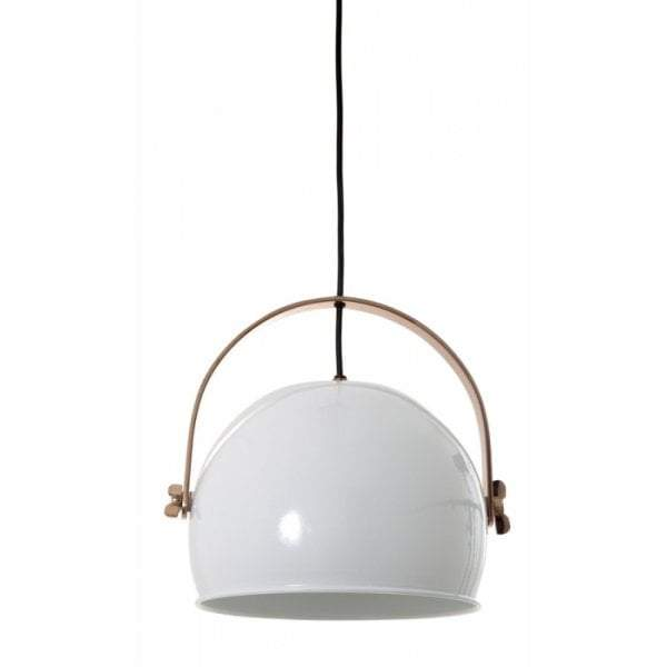 Smithfield Hanging Lamp In White