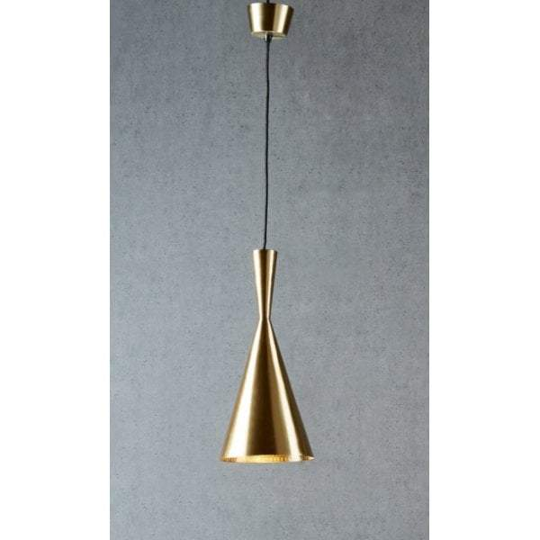 Cavendish hanging lamp in antique brass