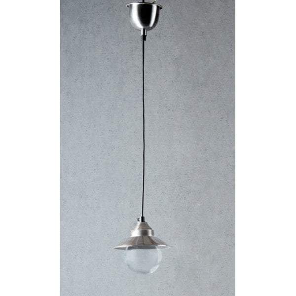 Auckland Hanging Lamp in Antique Silver - House of Isabella AU