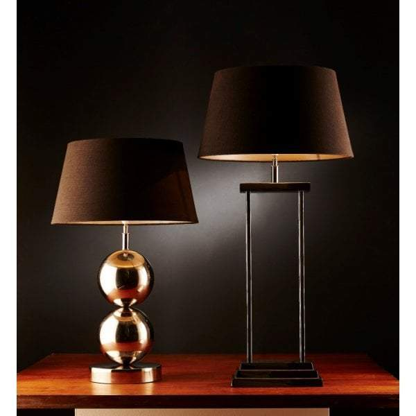 Diesel Table Lamp Base Nickel - House of Isabella AU