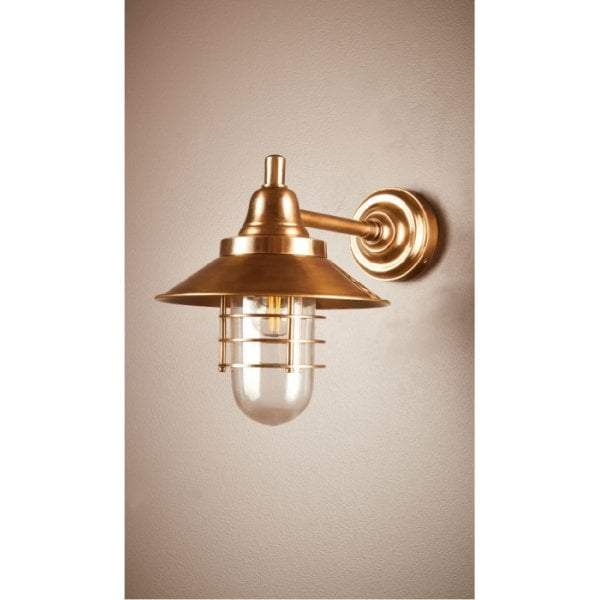 Clark Wall Lamp Antique Brass