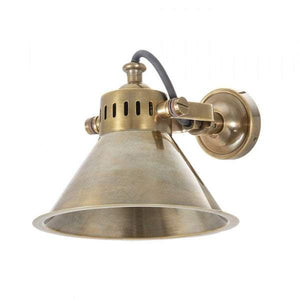 Montego Wall Lamp Brass