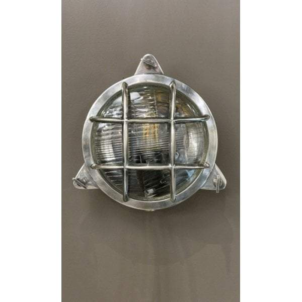 Palmerston Wall Lamp Outdoor in Silver
