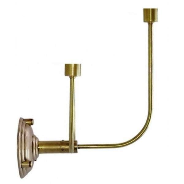 Trilogy 3 Arms Wall Lamp Base in Brass