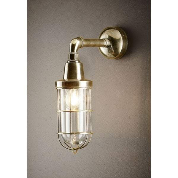 Starboard Wall Lamp Antique Brass