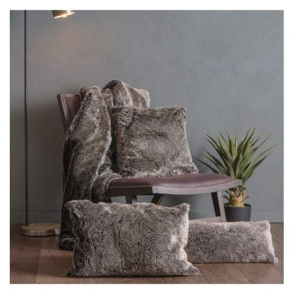 Olinda Wolf Cushion Grey 400x600mm