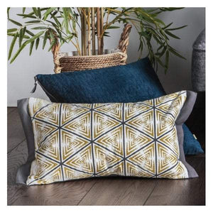 Monaco Geo Print Cushion Multi 300x500mm