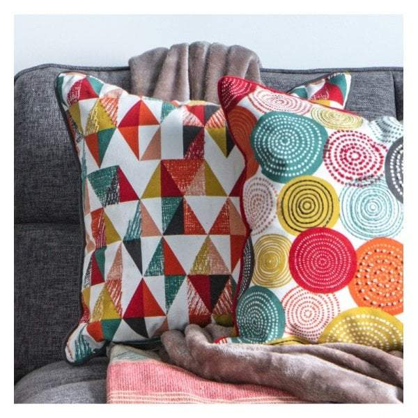 Sault Triangle Cushion Multi 450x450mm