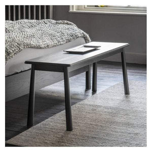 Walter Dining Bench Black