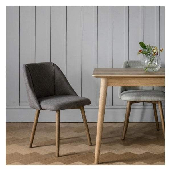 Ohain Dining Chair Slate Grey (2 pack)