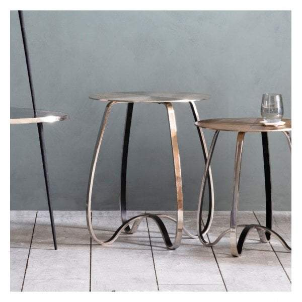 Jube Side Table Silver