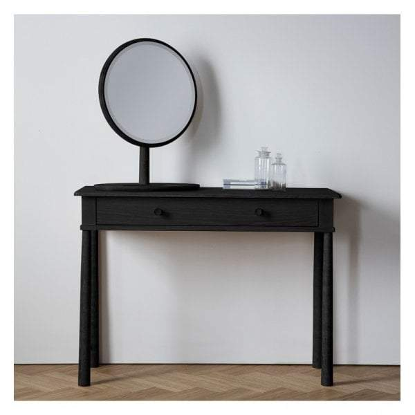Walter Dressing Table with Drawer Black