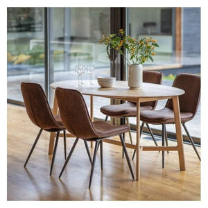 Madrid Oval Dining Table