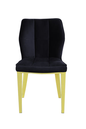 Ghibli Dining Chair Gold/Black (Set of 2)
