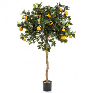 Artificial Golden Orange Tree 110cm 1140Lvs